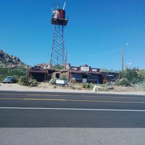 The desert highway.